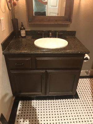 Granite countertop, sink, and Faucet, Only $75 for Sale in Phoenix, AZ