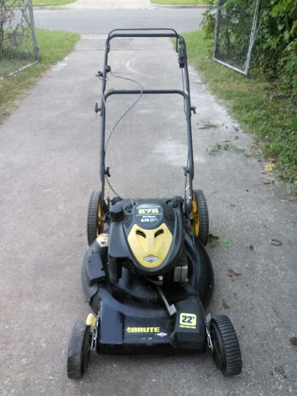 22 Quot Front Wheel Drive Brute 190cc Ready Start Lawn Mower 75 Obo For Sale In Tulsa Ok Offerup