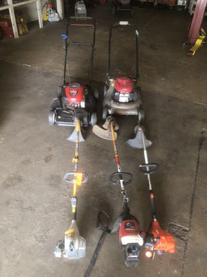 Lawn mower weed whacker lot for Sale in Philadelphia, PA