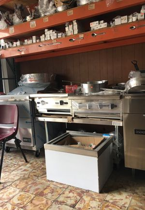 Line of restaurant equipment one piece or choice from our line of items dryers burners sinks etc all at excellent prices for Sale in Miami, FL