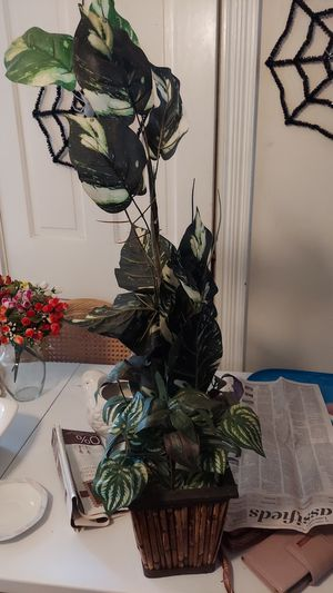 Plastic potted potted plants for Sale in Millersville, PA