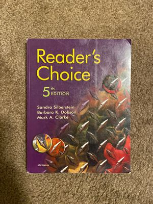Reader's choice 5th edition for Sale in La Habra Heights, CA
