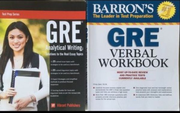 GRE prep, verbal and writing