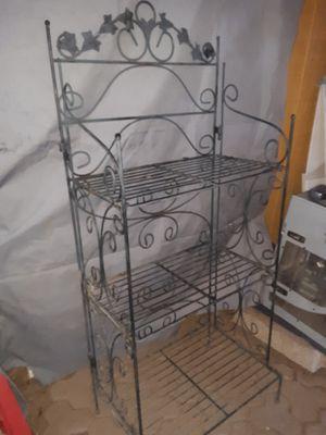 Large Claps able metal shelves for Sale in Phoenix, AZ