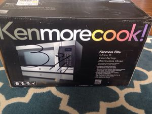 Brand New Kenmore Elite Microwave w/ Convection for Sale in Fredericksburg, VA