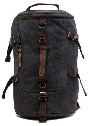 Canvas Backpack Rucksack Vintage Backpack Casual School Hiking Travel Crossbody Double-shoulder Backpack for Sale in Plainfield, NJ