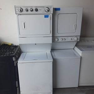 Standard size Whirlpool Stackables And Small Whirlpool stackable for Sale in Modesto, CA