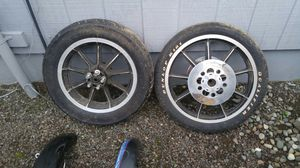 Harley Davidson AMF mag wheels Shovelhead parts misc for Sale in Carnation, WA