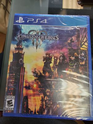 Kingdom hearts 3 new for Sale in Greer, SC