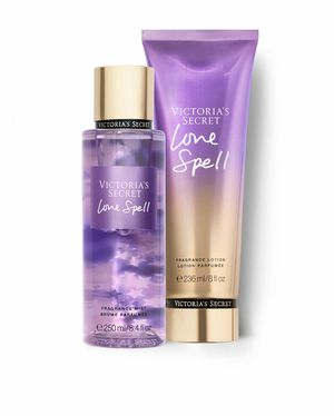 Authentic Victoria's Secret Love Spell Fragrance Mist and Lotion for Sale in Phoenix, AZ
