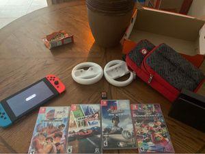 Nintendo switch bundle for Sale in Bullard, TX