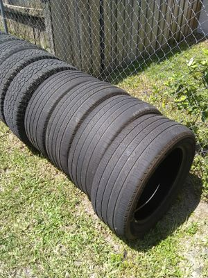 (4) 285/50r20 Michelin tires 285/50/20 20 inch for Sale in Port St. Lucie, FL