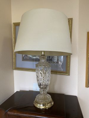 Crystal Lamp for Sale in Spanaway, WA