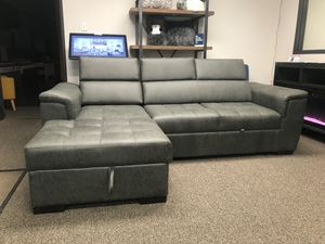 Sectional Sofa Pull Out Bed for Sale in Fountain Valley, CA
