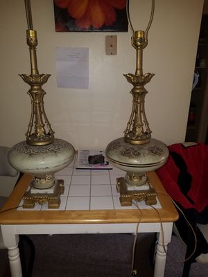 Vintage Lamp Set for Sale in Beaver, PA