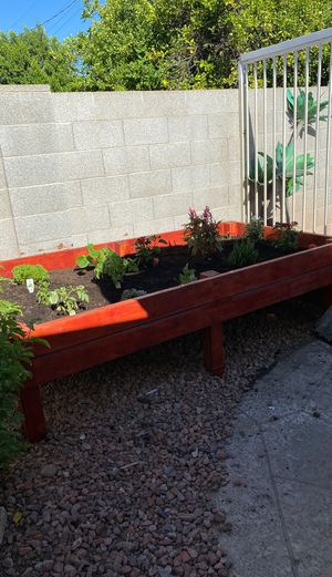 Planter box with plants for Sale in Glendale, AZ
