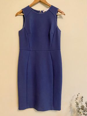 Ann Taylor Loft Blue Dress with Zipper - Size 2 for Sale in Tampa, FL