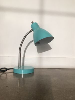 Blue Desk Lamp for Sale in Columbus, OH