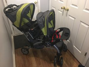 Babytrend Sit N' Stand Double stroller for Sale in Lithonia, GA