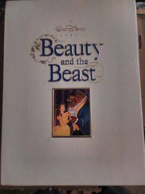 Walt Disney Beauty and the Beast Deluxe Box Edition for Sale in Leander, TX