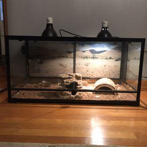 Reptile Tank - 50 gal for Sale in Chicago, IL