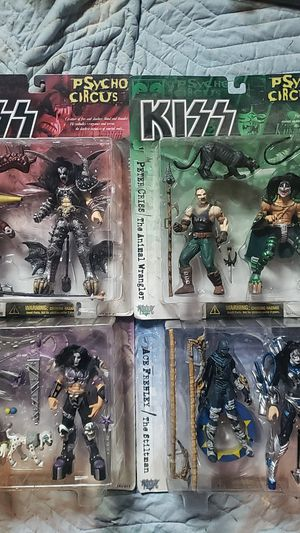 Kiss Psycho circus action figures for Sale in Four Oaks, NC