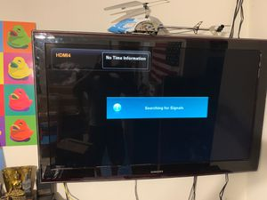 """50"""" tv Samsung working no stand for Sale in Fort Lauderdale, FL"""