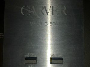Carver C-500 Amplifier for Sale in San Diego, CA