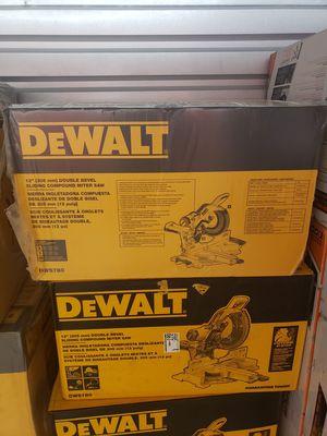 Dewalt 12 Inch Miter Saw (DWS780) for Sale in Philadelphia, PA