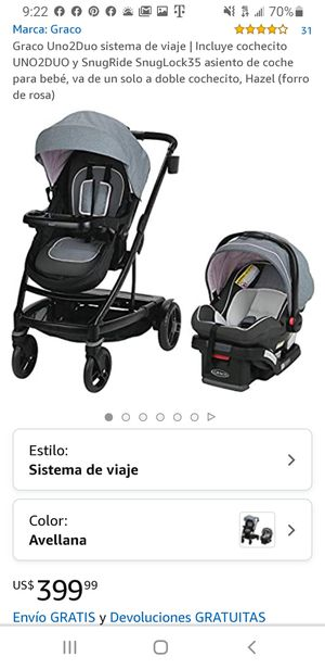 Graco Uno to Duo baby stroller for Sale in Glendale, AZ