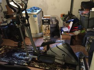 Exercise bike & eliptical for Sale in Philadelphia, PA