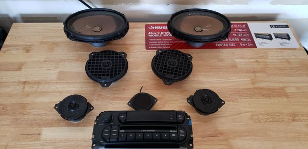 Complete Audio system for a 2002-2008 Dodge Ram 1500