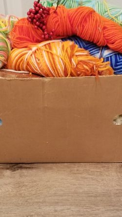 Huge Box Of Yarn for Sale in Lake Stevens,  WA