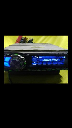High end!! Alpine CDA-9833 with Bluetooth adapter for Sale in Indianapolis, IN