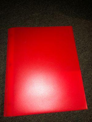 red folder for Sale in San Bernardino, CA