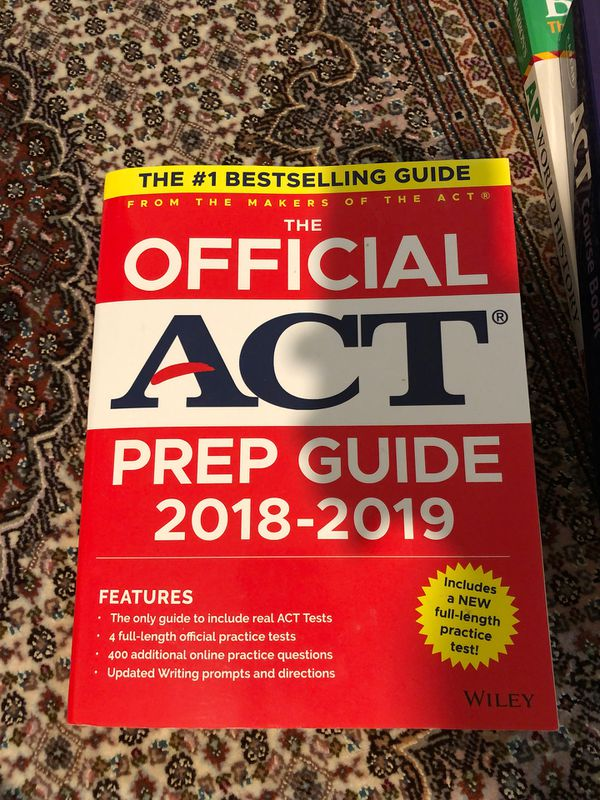 ACT Prep Guide 18-19