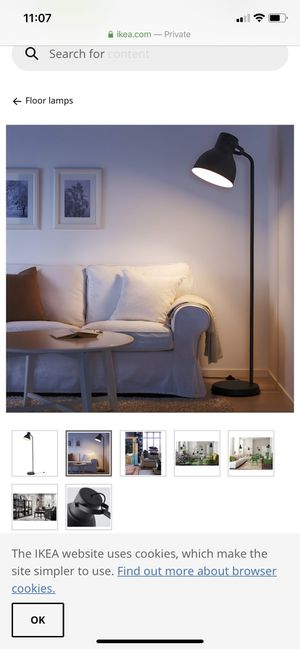 IKEA Floor Lamp for Sale in Fontana, CA
