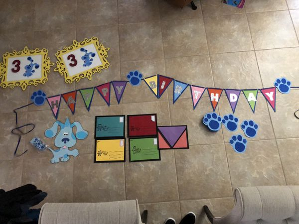 Blues Clues Party Decorations Handmade For Sale In Orlando FL