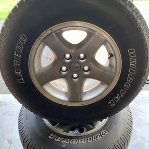 Jeep Wheels And Tires for Sale in Port Orchard, WA