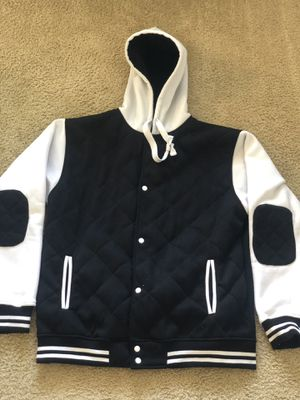 Black Sports Button Down Hoodie for Sale in Orlando, FL