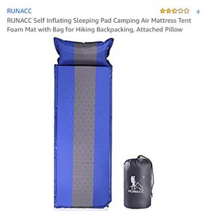 Brand new camping sleeping bag self inflatable for Sale in Los Angeles, CA