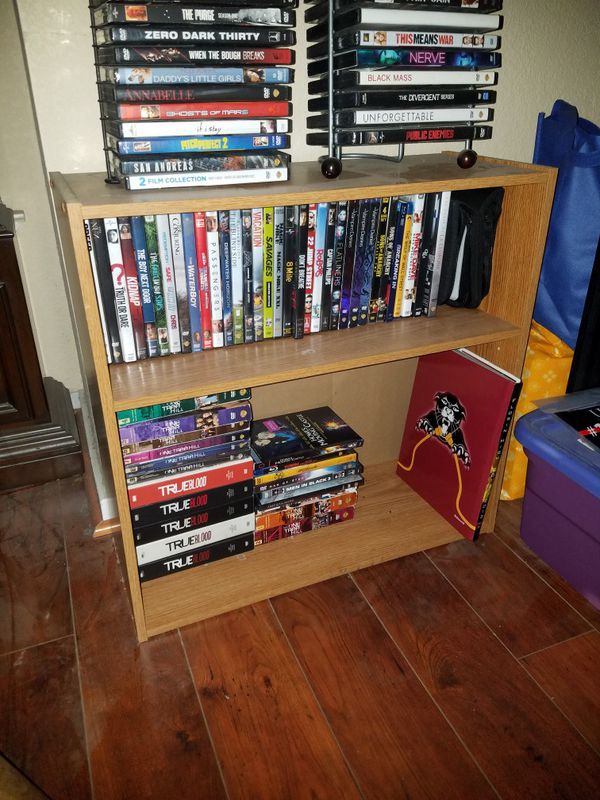 Brown 2 Shelf Unit