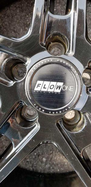 "Flow One Race Spec 18""wheels for Sale in Silver Spring, MD"