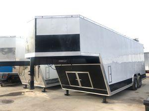 Cargó Gooseneck trailer 8.5x28 heavy duty for Sale in DeSoto, TX