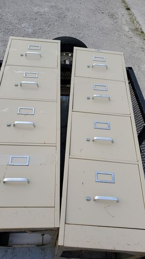 4 drawer file cabinets. 2 total cabinets. for Sale in Strongsville, OH