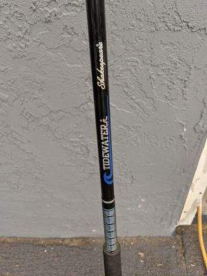 Ocean fishing rod and reel with weights for Sale in Jamul, CA