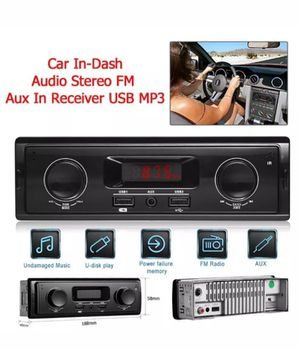 CAR STEREO NEW (NEVER USED) for Sale in Tucson, AZ