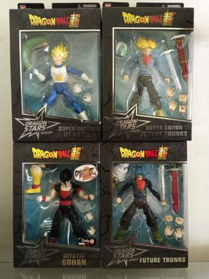 Bandai Dragon Ball Z Dragon Stars Vegeta Gohan Future Trunks Collectible Action Figure Toys ( $25 Each ) for Sale in Chicago, IL