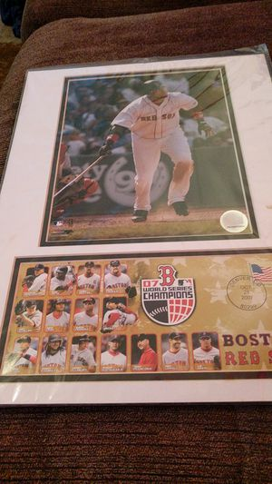 Big Papi matted photo for Sale in Bangor, ME