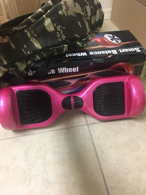 Hoverboard PINK *limited edition* NEW for Sale in Tampa, FL